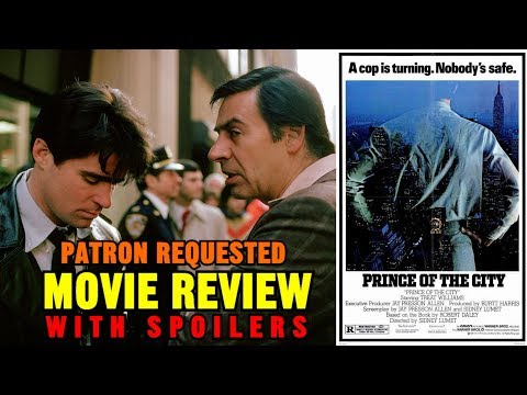 """Sidney Lumet's """"PRINCE OF THE CITY"""" (1981) - Patron requested movie review"""