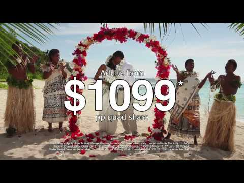 Fiji VIP Getaways with Air Pacific! (ex. Brisbane)