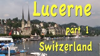 Where to go? The travelers perennial dilemma is especially challenging in Switzerland because of so many interesting options but we can offer perhaps the most excellent solution based on years of traveling through this high country go to Lucerne.You're going to find that your visit to Lucerne is one of the most rewarding aspects of any trip to Europe. It's one of the world's most charming towns in on a picturesque lake surrounded by majestic mountains they truly have it all  --  famous for its well-preserved Old Town consisting of many blocks of medieval buildings richly decorated with painted murals showing village life and hunting scenes from the olden days making this like outdoor art gallery in all of this is set on a beautiful waterfront along the shores of Lake Lucerne and the River Reuss.http://tourvideos.com/