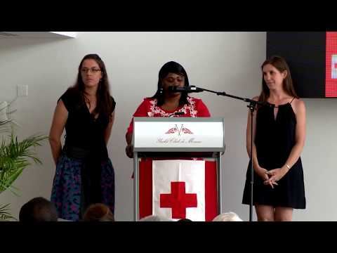 10th Anniversary of the international humanitarian section of the Monegasque Red Cross