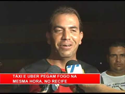 [RONDA GERAL] Táxi e Uber pegam fogo na mesma hora, no Recife