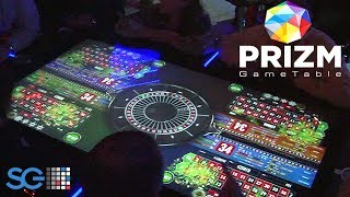 http://www.thisweekingambling.com/prizm-gametable-scientific-games/ - Take a peek at Scientific Games award winning  PRIZM GameTable! This is an innovative four-player interactive gaming on top of a 65 inch, 4k touchscreen display. http://www.prnewswire.com/news-releases/scientific-games-wins-gold-awards-for-best-slot-product-and-best-table-game-product-or-innovation-in-2016-gaming--technology-awards-300333468.htmlThe PRIZM GameTable deliveres a variety of  Scientific Games products, including Lightning Launch Roulette (covered in this video), Revolution Reels, and Monopoly Revolution.You can read more about the PRIZM GameTable when you visit the Scientific Games website: https://www.sggaming.com/Shuffle-Master/Electronic-Tables/PRIZM-GameTableLightning Launch Roulette: https://www.sggaming.com/Shuffle-Master/Electronic-Tables/PRIZM-GameTable/Lightning-Launch-Roulette