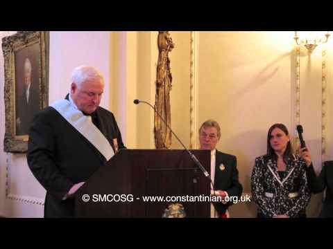 Ordine Constantiniano 2012 – Investitura del Presidente del Panama