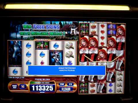 $7.50 Max Bet Lil Red Colossal reels slot.  Hand Pay NICE HIT!