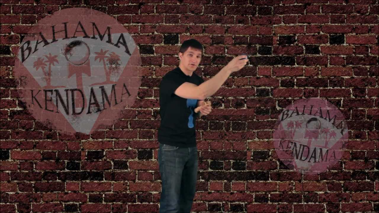 Bahama Kendama Tutorial with Joe Showers: Airplane  (Intermediate Trick)