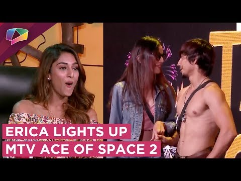 Erica Fernandes Brings Along A Fun Talent Show   MTV ACE Of Space 2