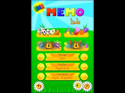 Video of Memo Game - Kids learn English