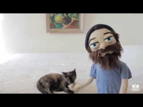 Rapper Aesop Rock makes a song about his cat, Kirby