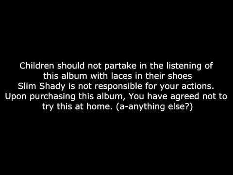 Eminem - Public Service Announcement (Skit) - Lyrics [HD&HQ]