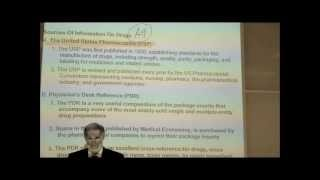 Pharmacology; Introduction; Part 1 By Professor Fink