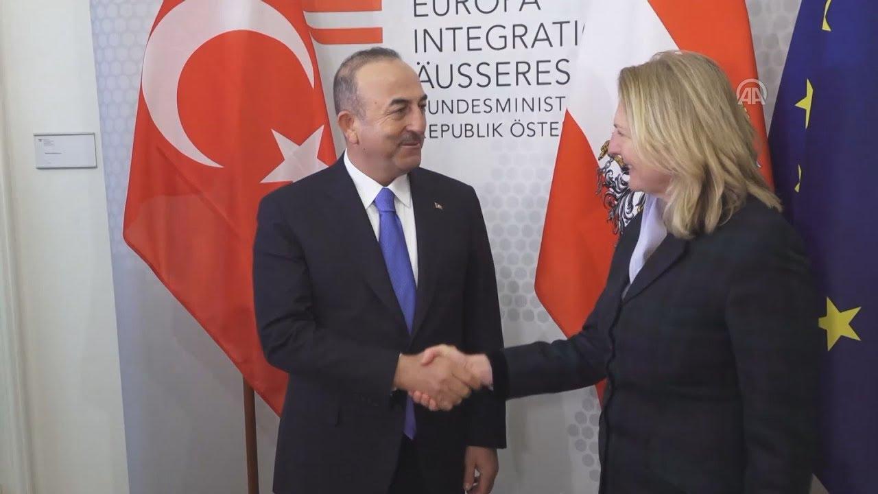 Επίσκεψη του Τούρκου ΥΠΕΞ Μ. Τσαβούσογλου στην αυστριακή πρωτεύουσα