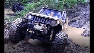 Полный привод, грязь. Застрял! / Four-wheel drive, dirt. Stuck!