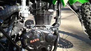 10. Hawk 250 Exhaust Modified
