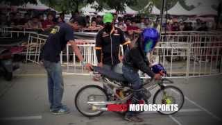 YAMAHA 125Z STD BODY - KBS MALAYSIAN DRAG RACE 2013 R3 Video