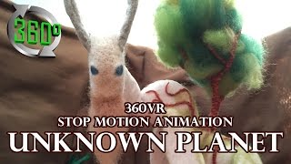Video 360VR Stop Motion Animation / UNKNOWN PLANET MP3, 3GP, MP4, WEBM, AVI, FLV Agustus 2019