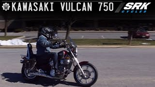 1. Kawasaki Vulcan 750 Test Drive