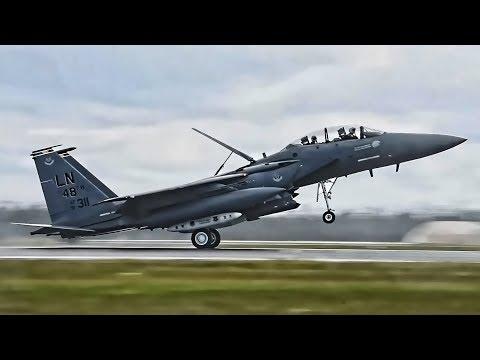 U.S. Air Force F-15E Strike Eagles...