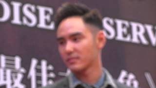 14.10.27 Ethan Ruan in Singapore for movie Paradise In Service promo