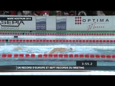 Bilan du 31e Meeting International de Natation de Monte-Carlo