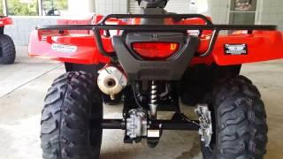 10. 2016 Honda FourTrax Rancher 420 ATV Walk-Around Video | TRX420FM1G
