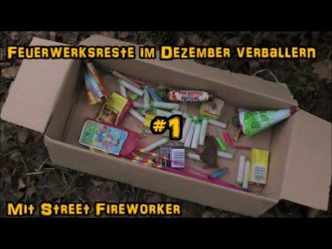 Feuerwerksreste im Dezember verballern #1 | PyroManiac & Street Fireworker (видео)