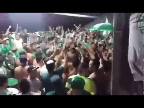 Tu Eres Mi Equipo Del Alma...Previa Los Del Sur Bajo Tribuna VS Rosario Central Copa Libertadores - Los del Sur - Atlético Nacional