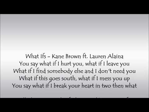 what ifs kane brown featuring lauren alaina mp3 download