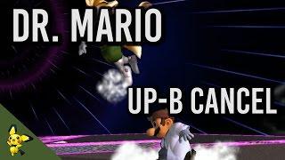 How to do Dr Mario's Up B cancel – SSBM Tutorials