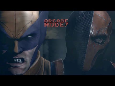 DEATHSTROKE vs. WOLVERINE | ARCADE MODE! [Episode 1]