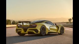 John Hennessey Unveils the Venom F5 at 2017 SEMA Show