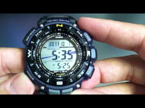 Casio Pathfinder PAG240B-2 Compass Altimeter Watch