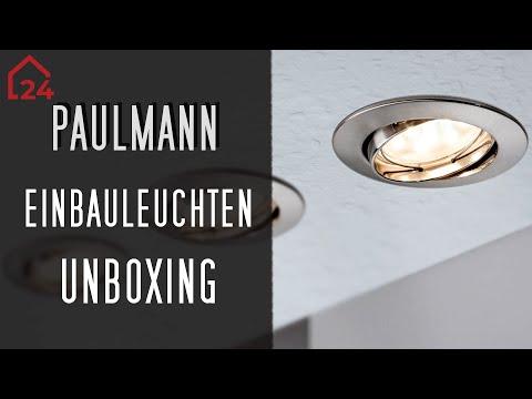 Paulmann LED-Einbauleuchte Boden-Set