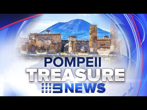 Archaeologists find incredible artifact buried at ancient city | Nine News Australia
