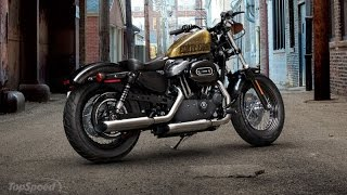 9. 2013 Harley - Davidson Sportster Forty - Eight