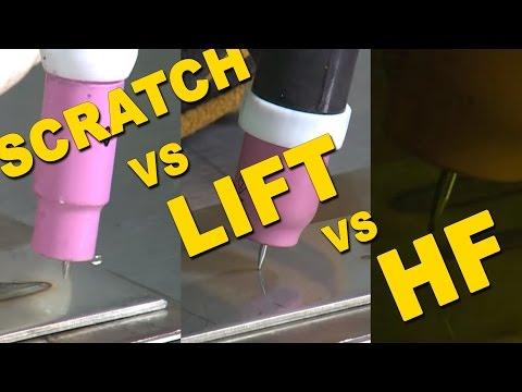 🔥 Scratch Start VS. Lift Start VS. High Frequency Start | TIG Time