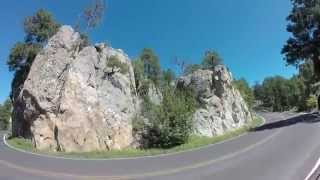 See the Black Hills on a motorcycle