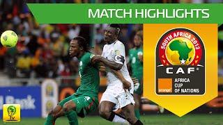 Burkina Faso 1(3)-1(2) Ghana  Résumé du match - Demi-finale  Match highlights - Semi final Coupe d'Afrique des Nations...