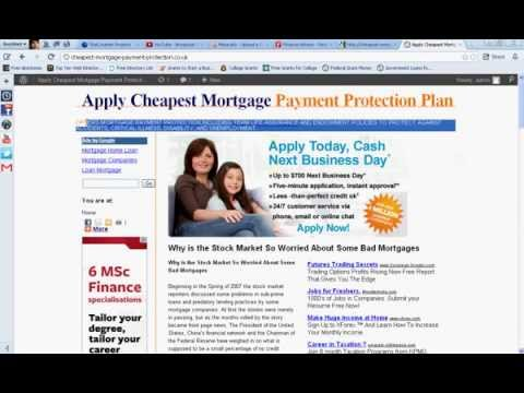 Mortgage Payment Protection Cover-Loan Payment Protection Insurance