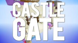 Minecraft: Simple Piston Castle Gate [Portcullis]