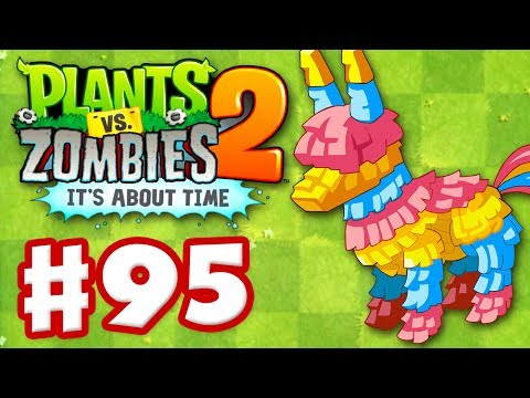 Plants vs. Zombies 2: It's About Time – Gameplay Walkthrough Part 95 – More Piñata Party! (iOS)