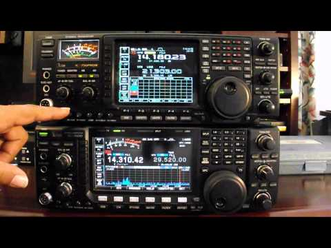 756 - THIS VIDEO CONTAINS ANNOTATIONS MAKE SURE YOUR PLAYER HAS THEM TURNED ON.) A comparison of the Icom IC-7600 Vs the IC-756 Pro III. This first video in the s...