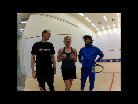 Racergirl Television Episode 18: Squash Lessons With Jasper Blake and Ben Uliana