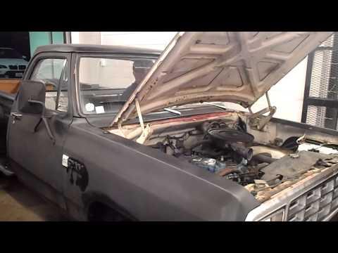 1981 Dodge D150 – Replacing intake/exhaust manifold gasket