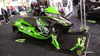 8. 2015 Arctic Cat Team Arctic 6000RR Snowmobile - Walkaround - 2014 Toronto ATV Show