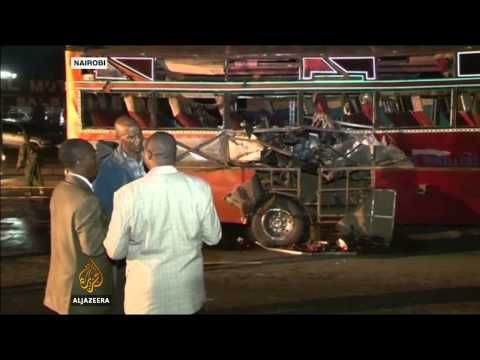 Blasts hit buses in Kenyan capital