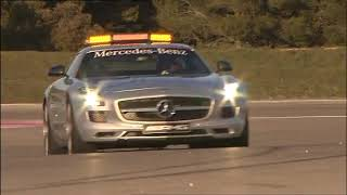 All New Mercedes SLS AMG F1 Safety Car 2010 Driving