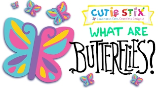 """Tribe talks about cool science and fun facts behind the prettiest butterflies! Enjoy learning in this fun stop motion animation for kids!From the makers of Orbeez and Pom Pom Wow10 Fun Facts About Butterflies to Learn Science  Official Cutie StixThe official YouTube channel of Cutie Stix""""Continuous Cuts, Countless Creations! Seriously Cute!""""1) Cut the stix to create beads. Use the CORING UNIT to core the beads.2) Create necklaces, bracelets, and more by using the threader.3) Show off your finished jewelry design. Be your own designer!From the makers of Orbeez and Pom Pom Wow by Maya ToysSUBSCRIBE:https://www.youtube.com/channel/UCHx4Hfo0-MpUEPRTflJjWLw?sub_confirmation=1Maya Toys 2016http://www.CutieStix.com"""