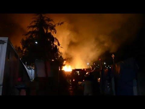 Ηρεμία στο ΚΥΤ Σάμου μετά την πυρκαγιά και τις συμπλοκές…