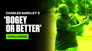 Charles Barkley's 'Bogey or Better' Hole Challenge at Capital One's The Match by Bleacher Report
