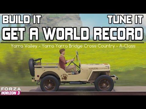 Forza Horizon 3 - 700BHP Willy's Jeep - WORLD RECORD - BUILD and TUNE